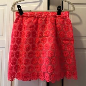 Lilly Pulitzer Neon Pink Mimosa Skirt